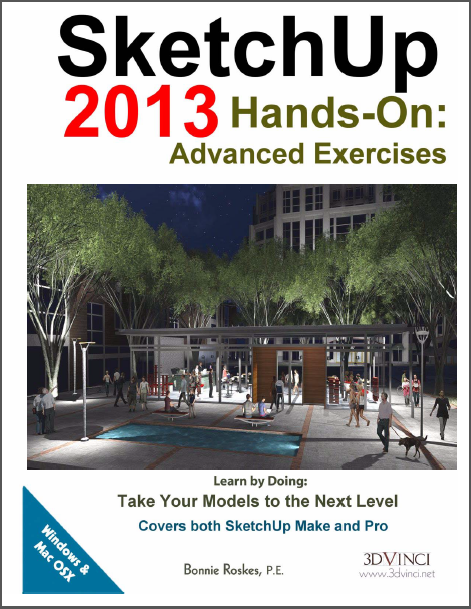 SketchUp 2013 Hands-On Advance Exercises boek