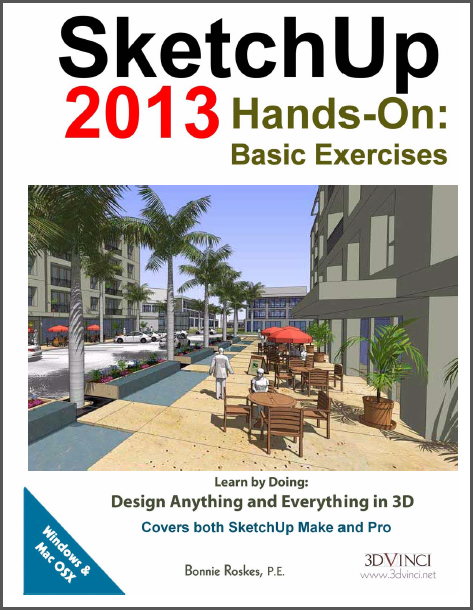 SketchUp 2013 Hands-On Basic Exercises boek